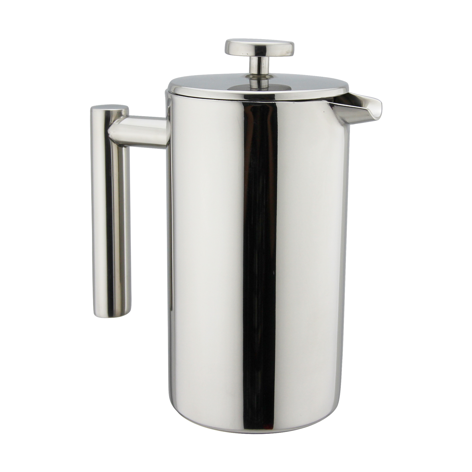 8 cup stainless steel french press kuissential. Black Bedroom Furniture Sets. Home Design Ideas