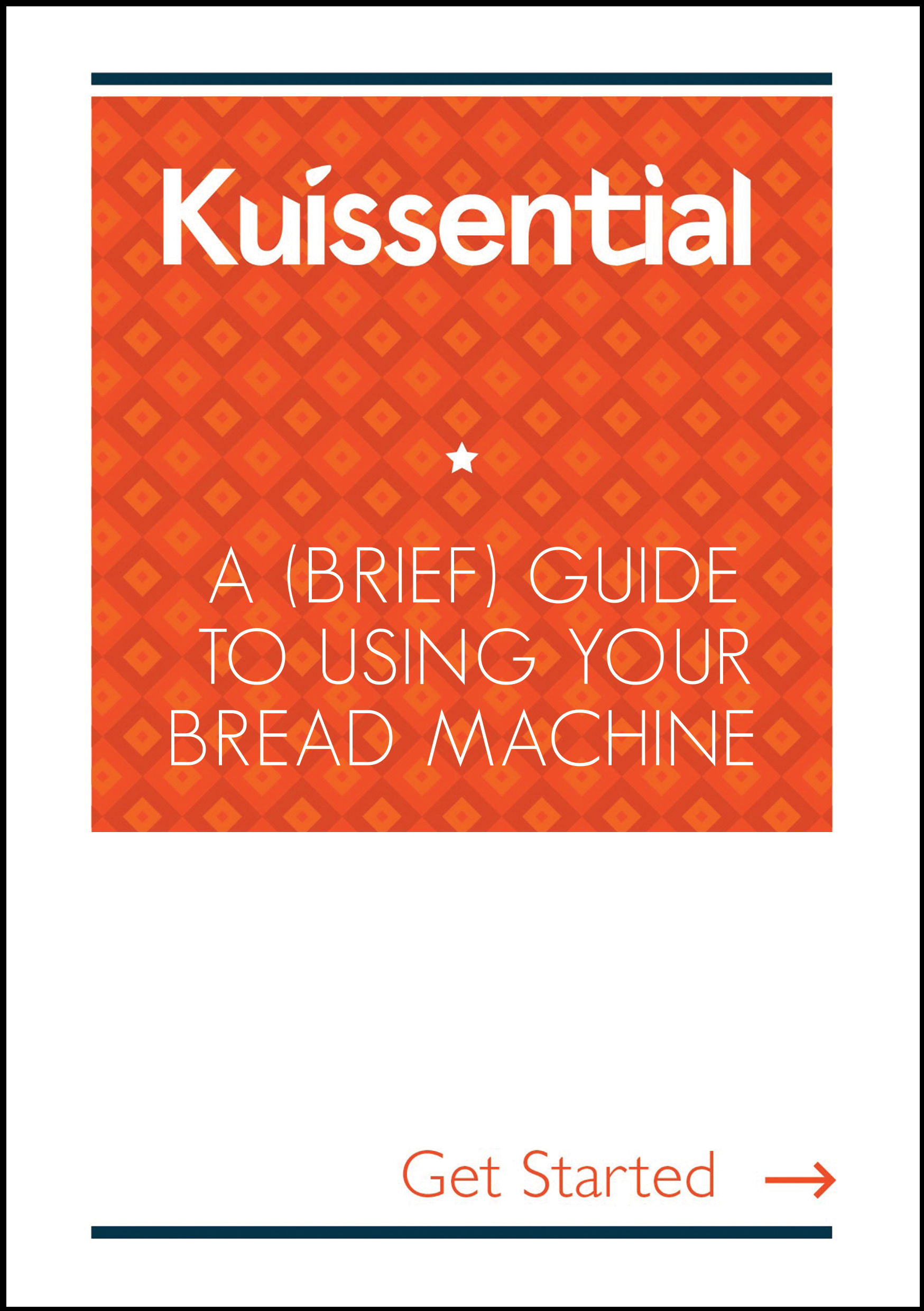 Kuissential Bread Machine User Manual