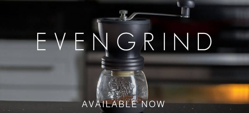 Kuissential EvenGrind Coffee Grinder with Stabilizing Cage
