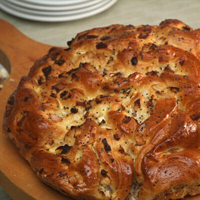 Onion Bread Recipe from Kuissential: Kitchen & Coffee