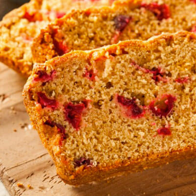 Orange Cranberry Bread Recipe from Kuissential: Kitchen & Coffee