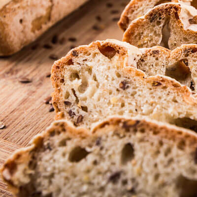 Gluten Free Flax Bread Dough Recipe from Kuissential: Kitchen & Coffee