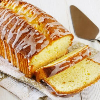Lemon Glazed Cake Recipe from Kuissential: Kitchen & Coffee